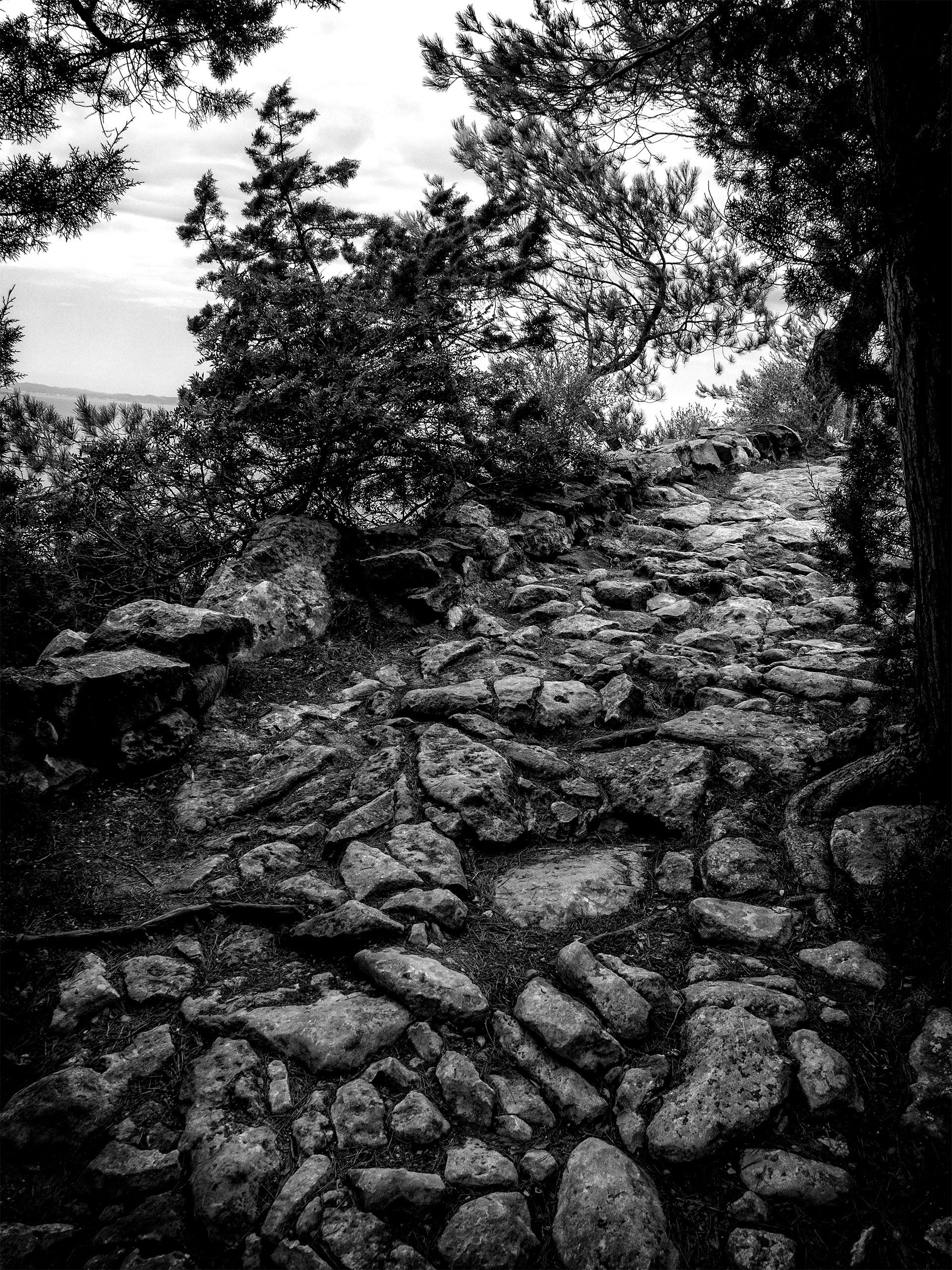 the Roman path